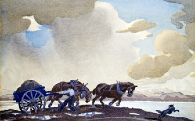 Untitled, Watercolour on paper, Colin V Wheeler
